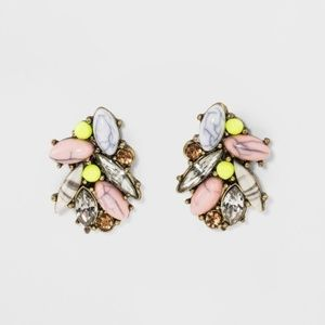 SUGARFIX by BaubleBar Crystal & Stone Stud Earring